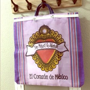 Mexican Mercado style reusable bag